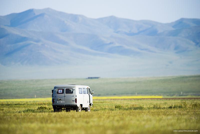 Endless Mongolian Steppes