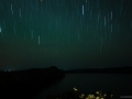 Startrails over Lake Chala